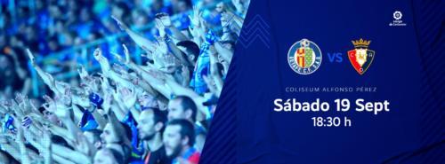 Ponturi Getafe-Osasuna 19-septembrie-2020 La Liga