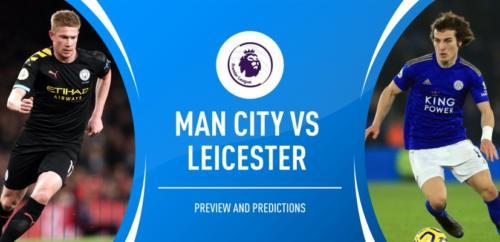 Ponturi Manchester City vs Leicester fotbal 27 septembrie 2020 Premier League