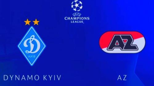 Ponturi Dinamo Kiev vs AZ Alkmaar fotbal 15 septembrie 2020 Liga Campionilor