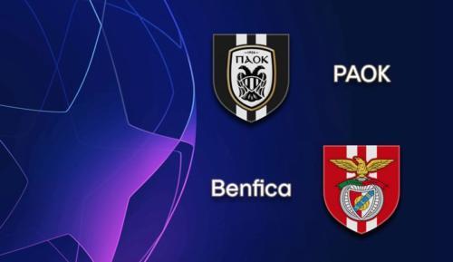 Ponturi PAOK Salonic vs Benfica fotbal 15 septembrie 2020 Liga Campionilor