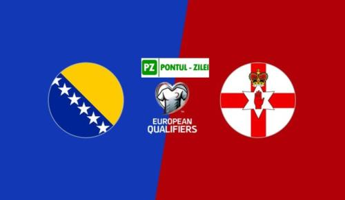 Ponturi Bosnia Hertegovina vs Irlanda de Nord fotbal 8 octombrie 2020 preliminarii Euro