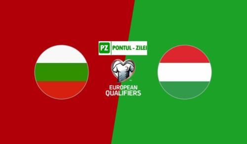 Ponturi Bulgaria vs Ungaria fotbal 8 octombrie 2020 preliminarii Euro
