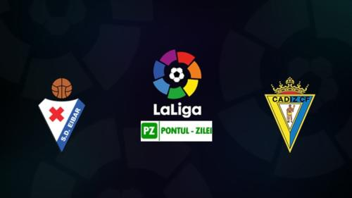 Ponturi Eibar vs Cadiz fotbal 30 octombrie 2020 La Liga