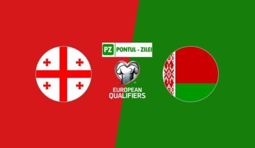 Ponturi Georgia vs Belarus fotbal 8 octombrie 2020 preliminarii Euro