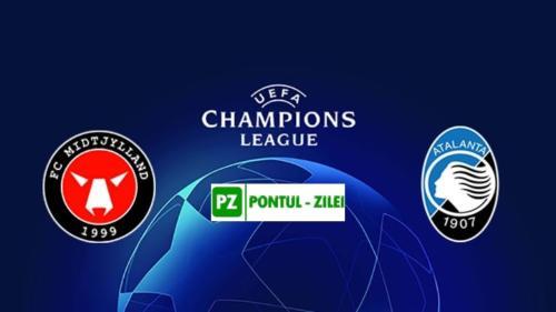 Ponturi Midtjylland vs Atalanta fotbal 21 octombrie 2020 Liga Campionilor