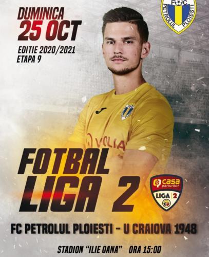 Ponturi Petrolul - FC U Craiova fotbal 25-octombrie-2020 Liga 2