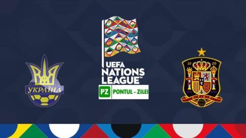 Ponturi Ucraina vs Spania fotbal 13 octombrie 2020 Liga Natiunilor