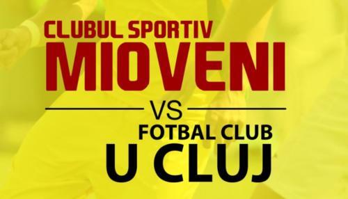 Ponturi CS Mioveni vs U Cluj fotbal 26 octombrie 2020 Liga 2