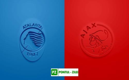Ponturi Atalanta vs Ajax fotbal 27 octombrie 2020 Liga Campionilor