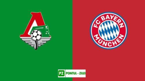 Ponturi Lokomotiv Moscova vs Bayern fotbal 27 octombrie 2020 Liga Campionilor