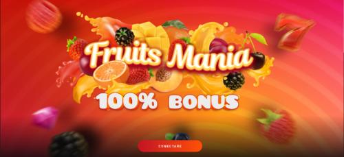 FRUITS MANIA: 500 RON BONUS la MAXBET!
