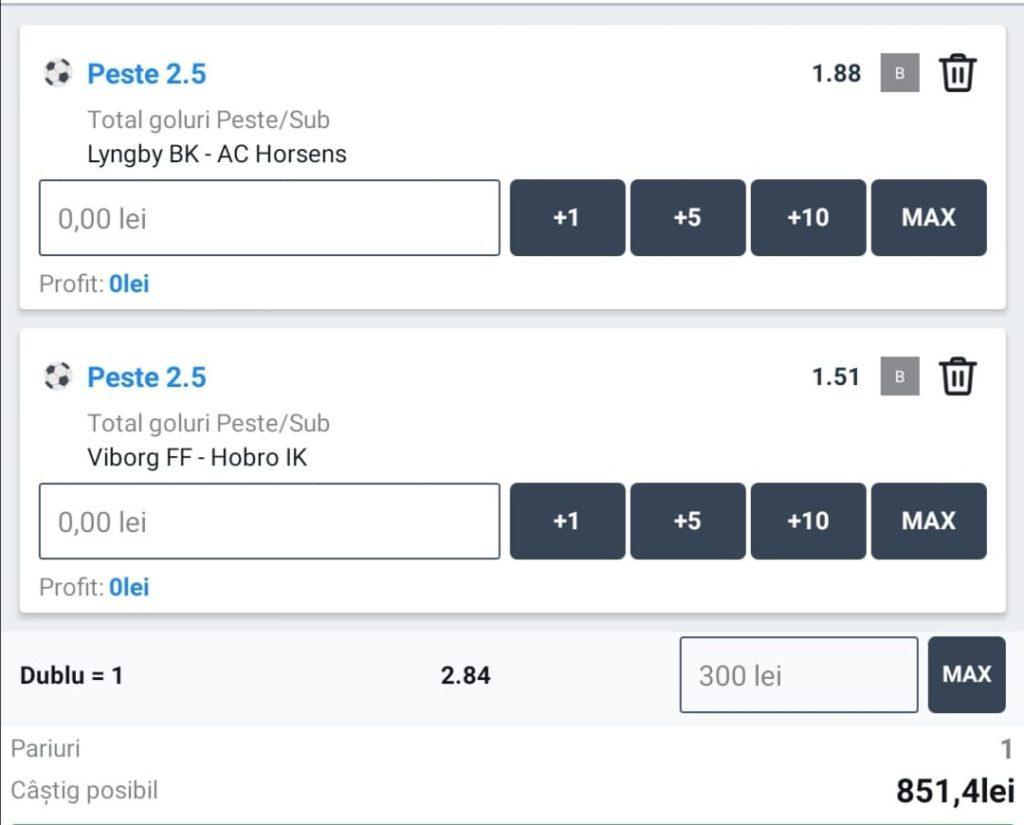Biletul zilei fotbal ERC – Vineri 20 Noiembrie – Cota 2.84 – Castig potential 851 RON