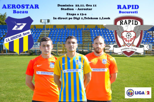 Ponturi Aerostar-Rapid 22-noiembrie-2020 Liga 2