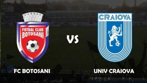 Ponturi FC Botosani-Universitatea Craiova 21-noiembrie-2020 Liga 1