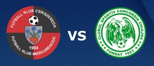 Ponturi Csikszereda vs Concordia Chiajna fotbal 15 noiembrie 2020 Liga 2