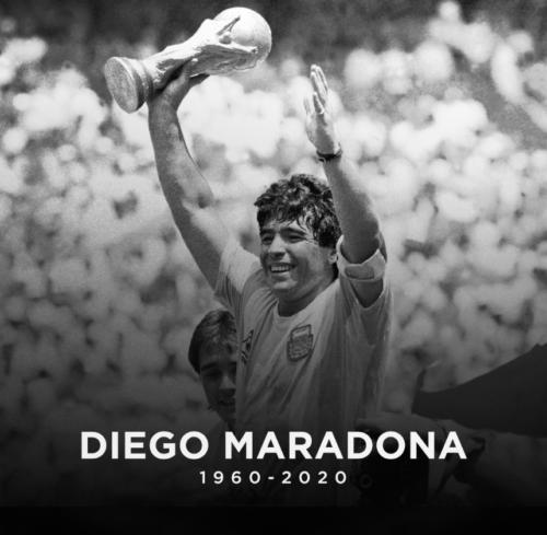 Maradona, legenda fotbalului mondial, s-a stins din viata la varsta de 60 de ani!