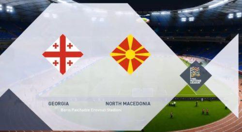 Ponturi Georgia vs Macedonia de Nord fotbal 12 noiembrie 2020 baraj Euro