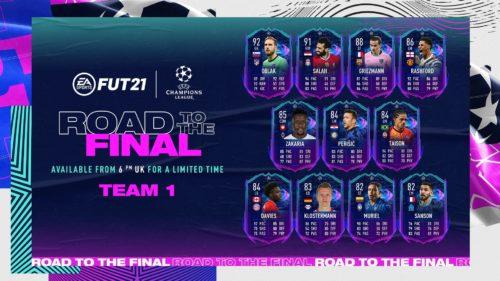 Lista celor mai interesante carduri UCL oferite în FIFA 21!