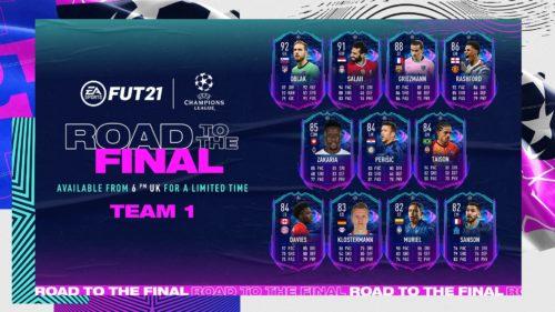 Uefa Champions League se mută în FIFA 21! Ce carduri au fost lansate în joc