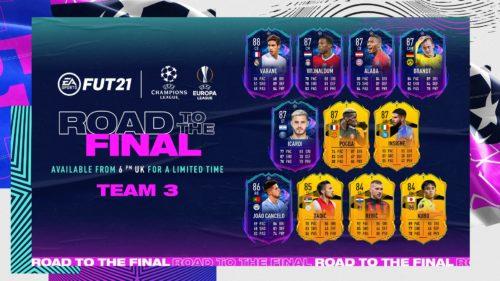 Uefa Champions League & Europa League revin în FIFA 21!