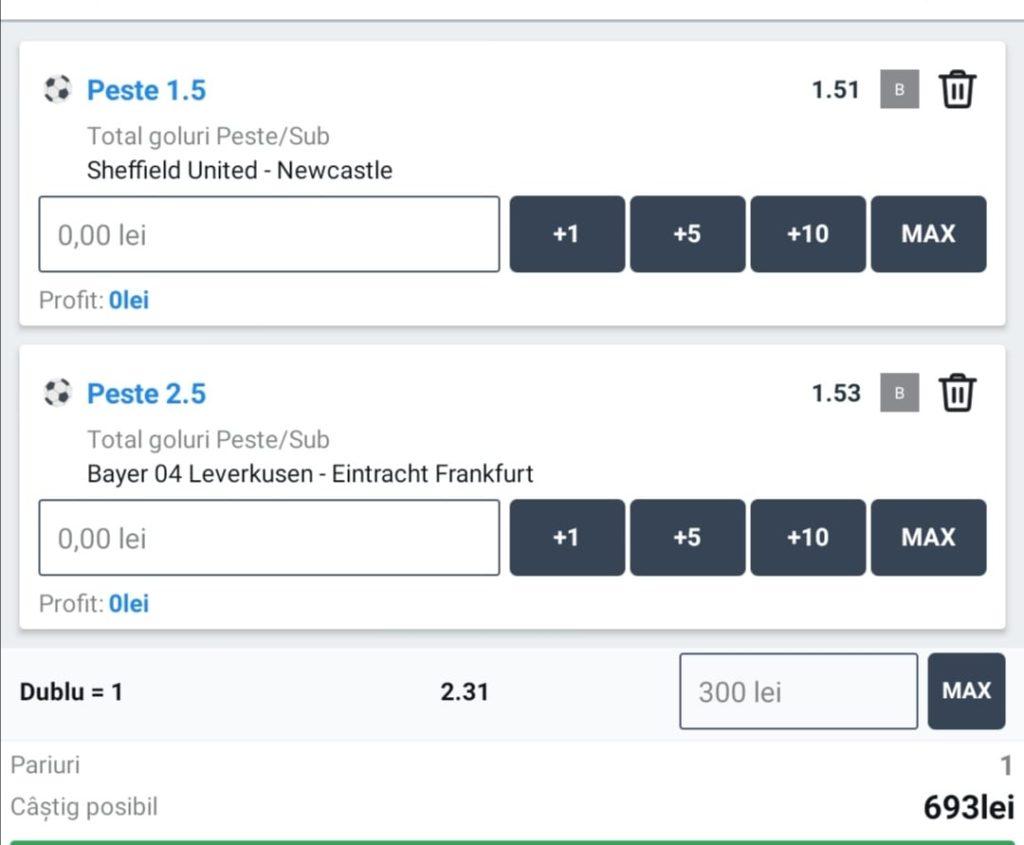 Biletul zilei fotbal ERC – Marti 12 Ianuarie – Cota 2.31 – Castig potential 693 RON