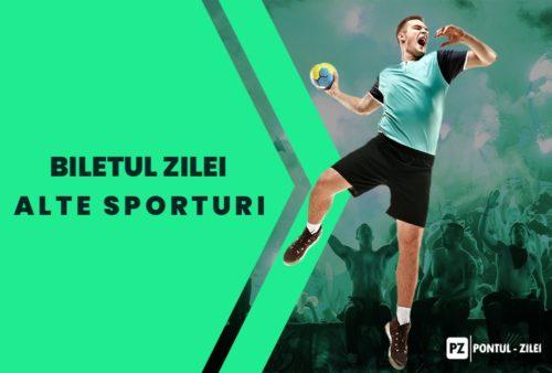 Biletul Zilei alte sporturi – Marti 16 Februarie – Cota 1.88 – Castig potential 188 RON
