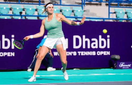 Ponturi Maria Sakkari-Aryna Sabalenka tenis 12-ianuarie-2021 WTA Abu Dhabi