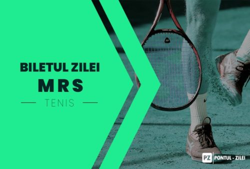 Biletul zilei tenis MRS – Duminica 21 Februarie – Cota 2.55 – Castig potential 485 RON