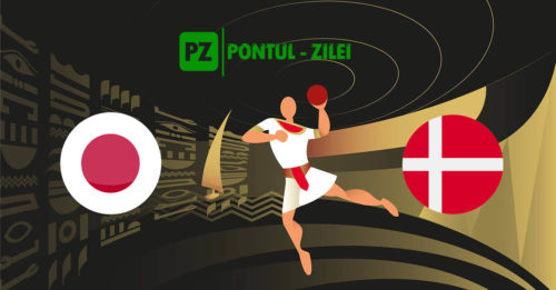Ponturi handbal Japonia-Danemarca 23-ianuarie-2021 Campionatul Mondial