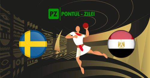 Ponturi handbal Suedia-Egipt 18-ianuarie-2021 Campionatul Mondial