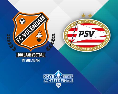 Ponturi FC Volendam - PSV Fotbal 19-Ianuarie-2021 Cupa Olandei