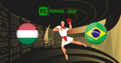 Ponturi handbal Ungaria-Brazilia 21-ianuarie-2021 Campionatul Mondial