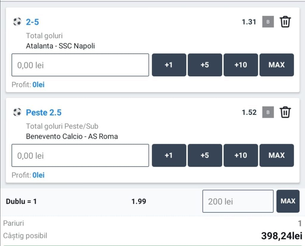 Biletul zilei fotbal Alyn – Duminica 21 Februarie 2021 – Cota 1.99 – Castig potential 398 RON