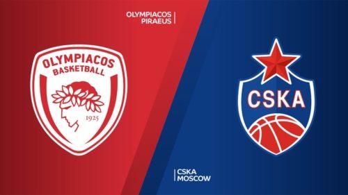 Ponturi baschet Olympiacos-CSKA Moscova 25-februarie-2021 Euroliga