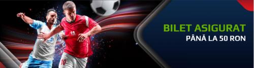 La NETBET ai asigurare de 50 RON pentru orice bilet pariat pe fotbal!