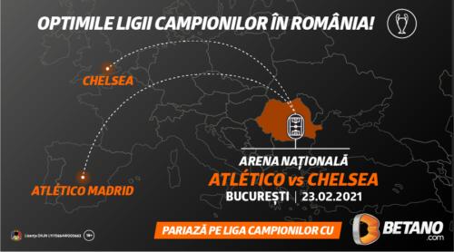 Pe Betano ai primăvara Ligii Campionilor în România!