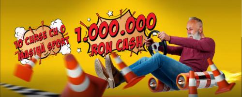 Participa la MAXCIRCUITUL PREMIILOR de la MAXBET! Premii in valoare de 1.000.000 RON !