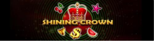 Happy hour la UNIBET: 10 rotiri gratuite la Shining Crown!