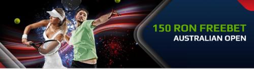 Pariaza pe Australian Open si primesti 150 RON FREE BET de la NETBET!