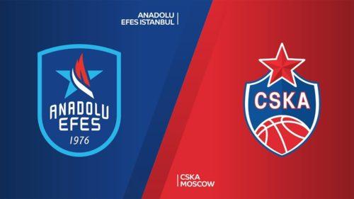 Ponturi baschet Anadolu Efes-CSKA Moscova 08-octombrie-2021 Euroliga