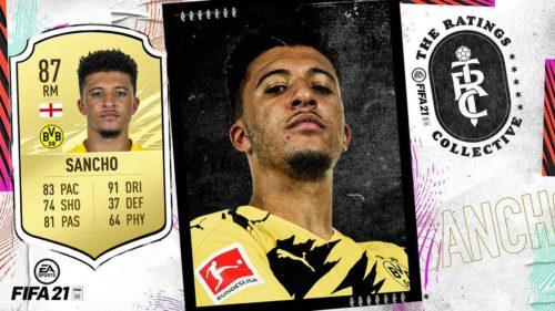 Jadon Sancho este jucătorul lunii din FIFA 21!
