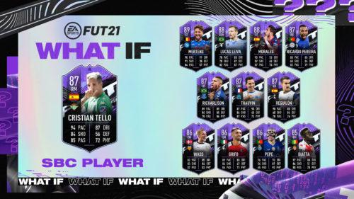 Un nou SBC în FIFA 21! Recenzia cardului
