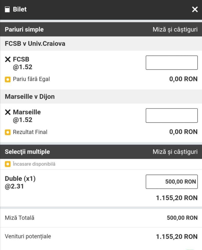Biletul zilei fotbal Alyn – Duminica 04 Aprilie 2021 – Cota 2.31 – Castig potential 1155 RON