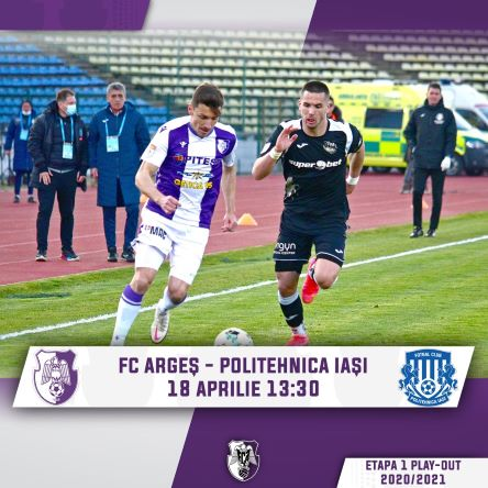 Ponturi FC Arges vs Poli Iasi fotbal 18 aprilie 2021 Liga 1