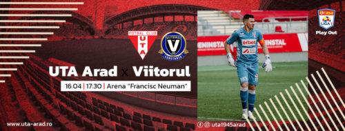 Ponturi UTA Arad-Viitorul 16-aprilie-2021 Liga 1