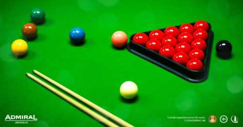Pariaza pe Campionatul Mondial de Snooker la Admiral si incaseaza bonusul de 147!