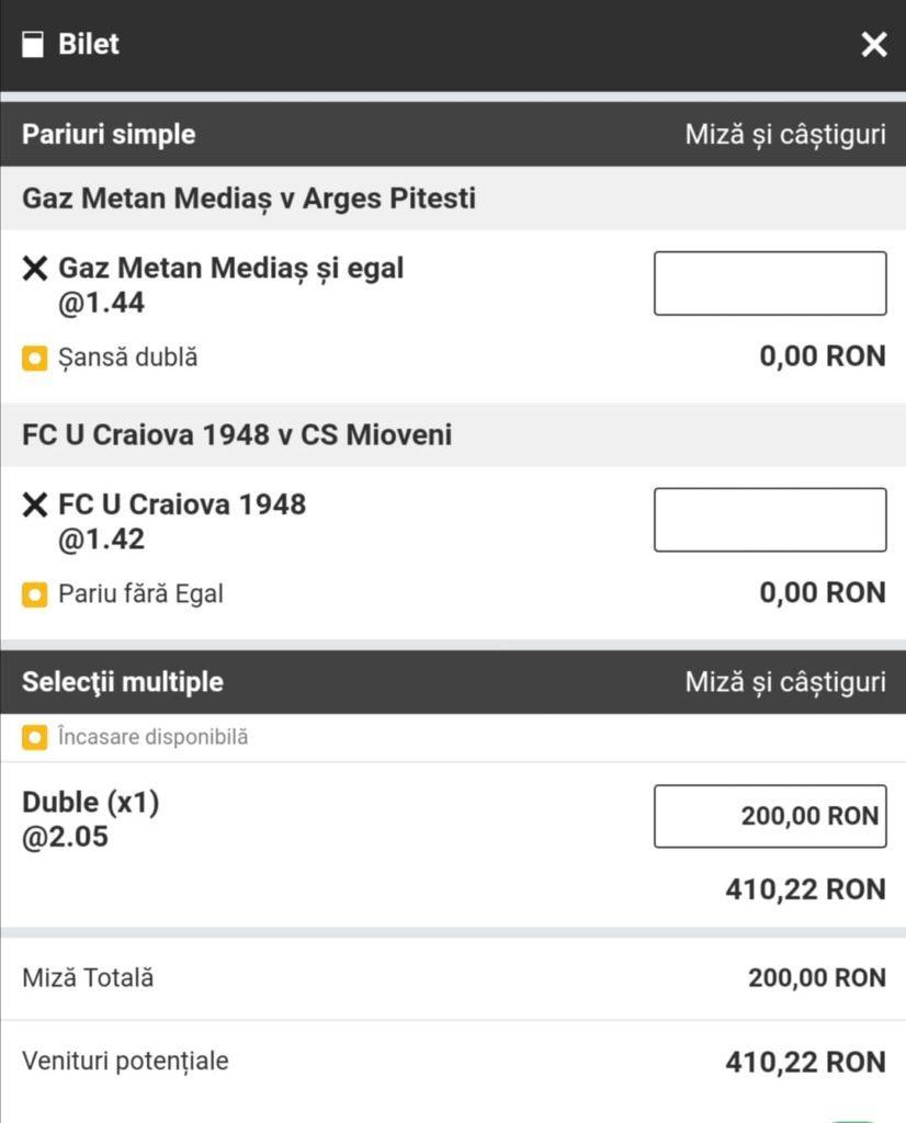 Biletul zilei fotbal Alyn – Vineri 30 Aprilie 2021 – Cota 2.05 – Castig potential 410 RON