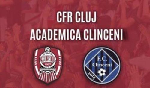 Ponturi CFR Cluj vs Academica Clinceni fotbal 18 aprilie 2021 Liga 1