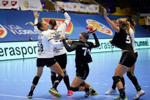 Ponturi CS Minaur Baia Mare-HC Dunarea Braila handbal 03-aprilie-2021 EHF European League Feminin