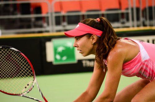 Ponturi Mihaela Buzarnescu-Elisabetta Cocciaretto tenis 17-aprilie-2021 Fed Cup